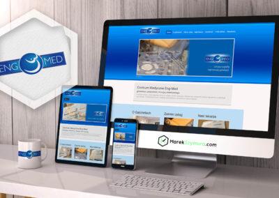 strony internetowe, wordpress, portfolio, identyfikacja wizualna, logo, MarekSzymura.com