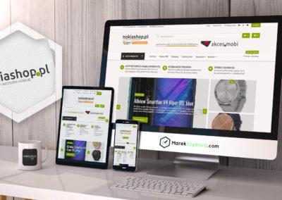 projekt sklepu internetowego, grafiki do social media, facebook, instagram, graficzna oferta współpracy, sklep internetowy, portfolio, identyfikacja wizualna, logo, MarekSzymura.com