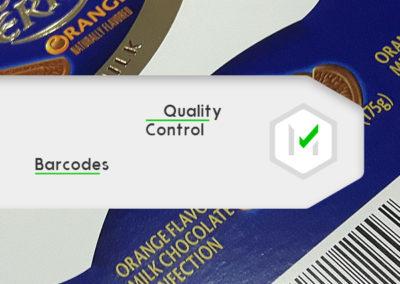 uszlachetnianie druku, kontrola separacji drukowych i barcode